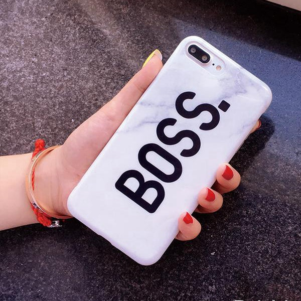 Marble Boss TPU case