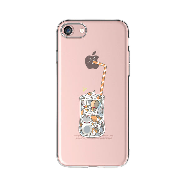 Cat Drink TPU case