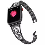 Crystal Love Apple Watch band