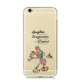 Laughter Mickey Watercolor TPU case