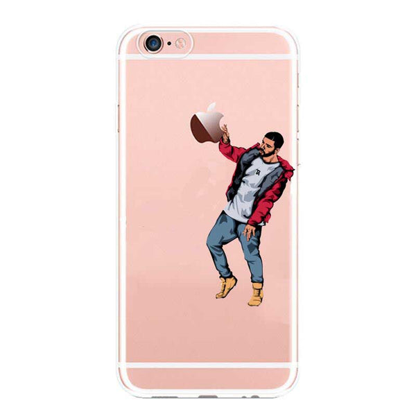 Drake Apple TPU case