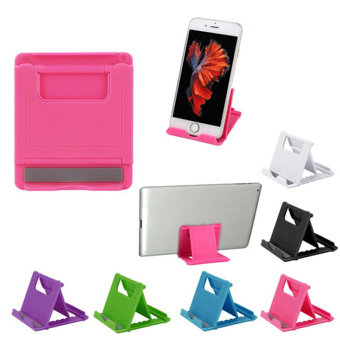 Universal foldable phone holder