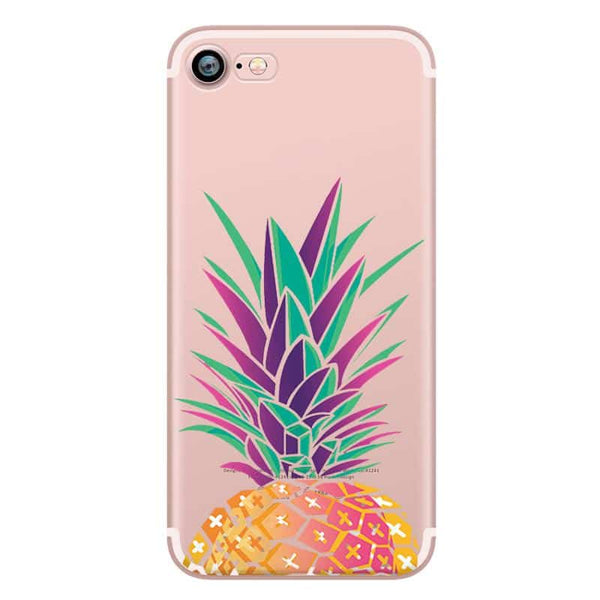 Big Colorful Pineapple TPU case