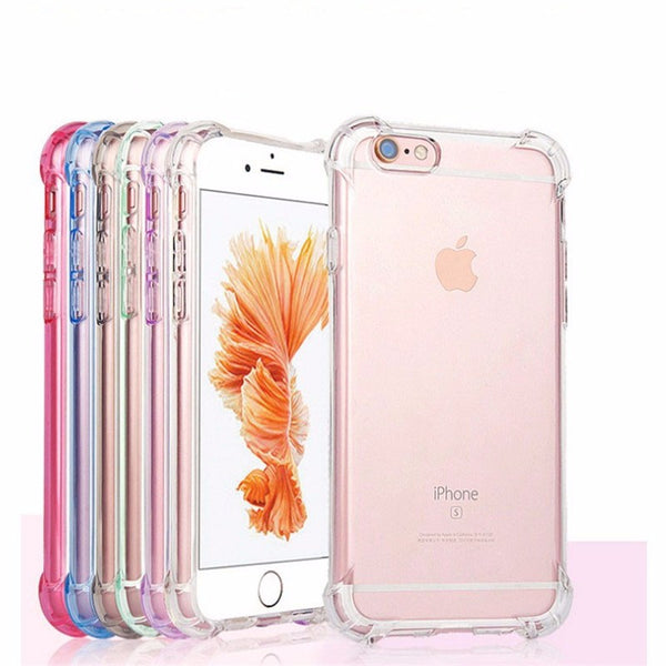 TPU Clear Shockproof Case