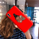 Money phone red case
