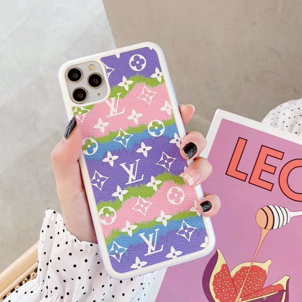 Tie Dye small multi LV Tpu case