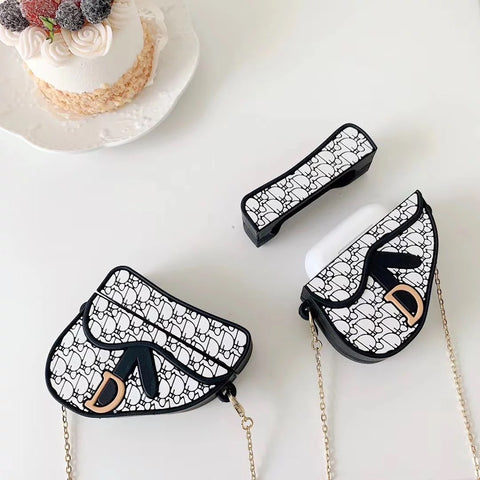 Dior bag Silicone Airpod Case