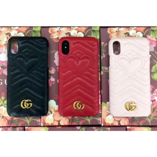 Gucci Quilted Heart Case