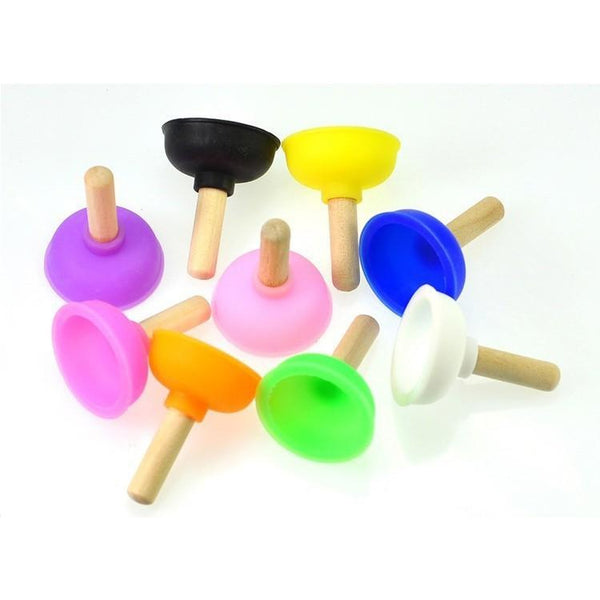 Plunger Phone Stand