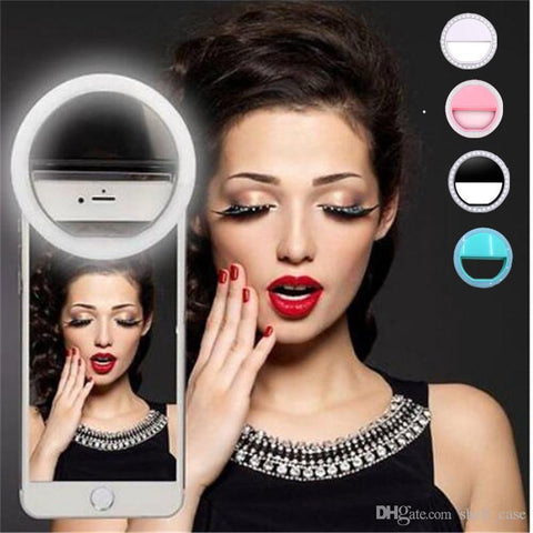Selfie Light Ring Clip