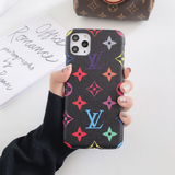 Black Colorful LV Supreme Luxury Case