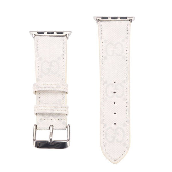 White Gucci Apple Watch Band