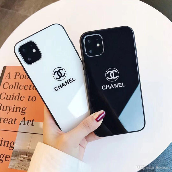 CC glass logo  case