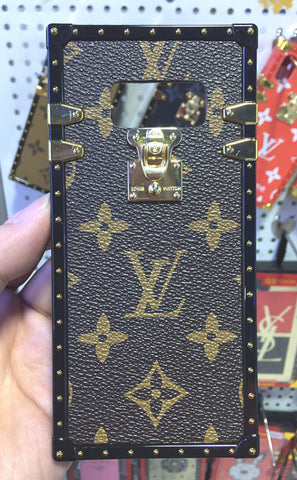 LV Classic Brown Android TPU Trunk Case