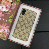 Gucci Monogram Leather case