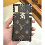 LV Classic Brown TPU Trunk Case