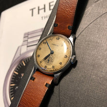Load image into Gallery viewer, Pobeda Dress Watch, mechanical hand-wound from the fifties - Stunning patina!