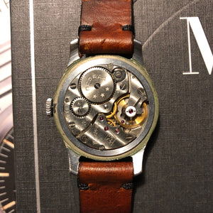 Pobeda Dress Watch, mechanical hand-wound from the fifties - Stunning patina!