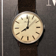 Load image into Gallery viewer, Classy, seventies Raketa dress watch, mechanical and hand-wound