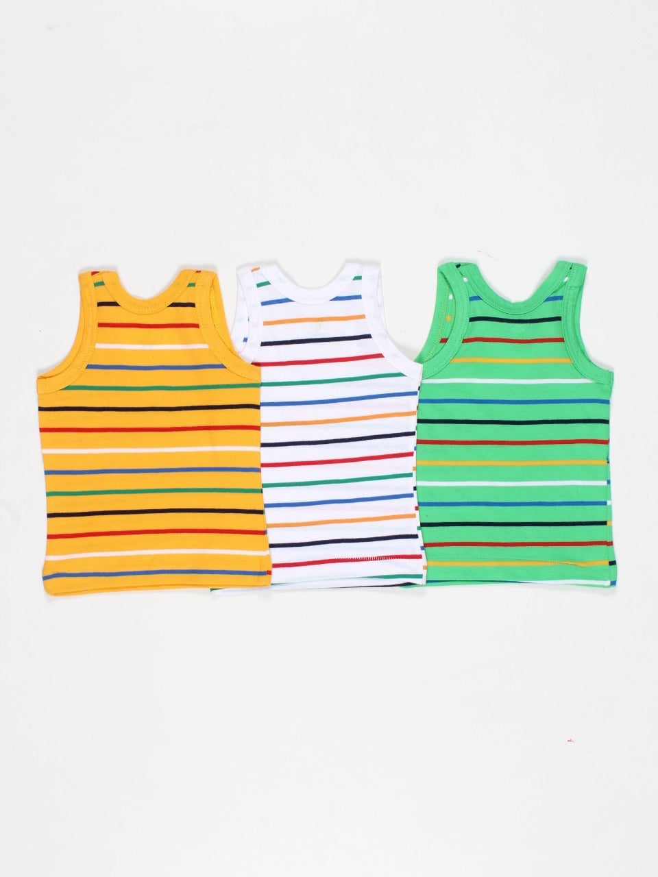 Sleeveless Tshirt (Pack of 3)
