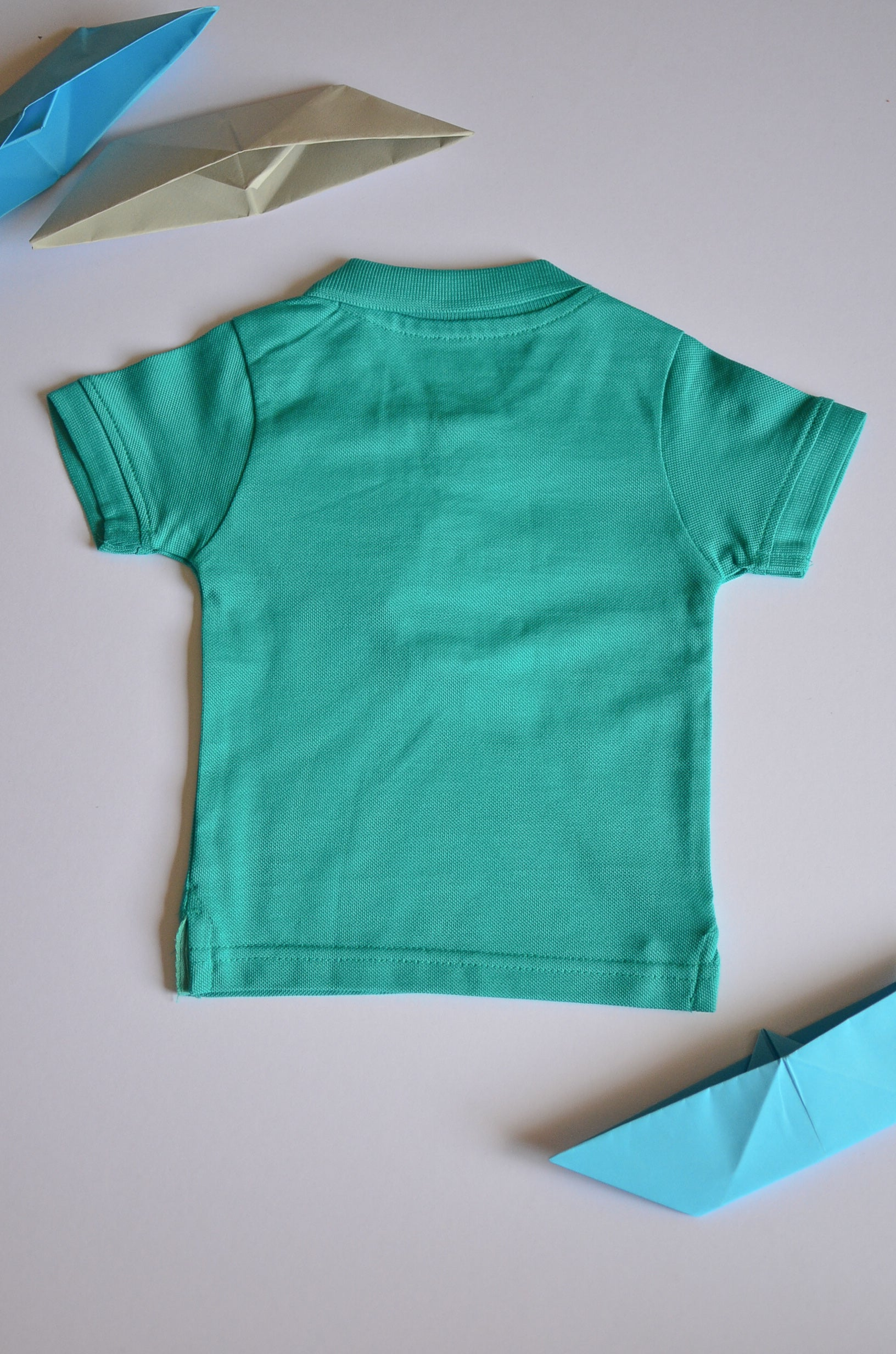Collar Half Sleeve Tshirt