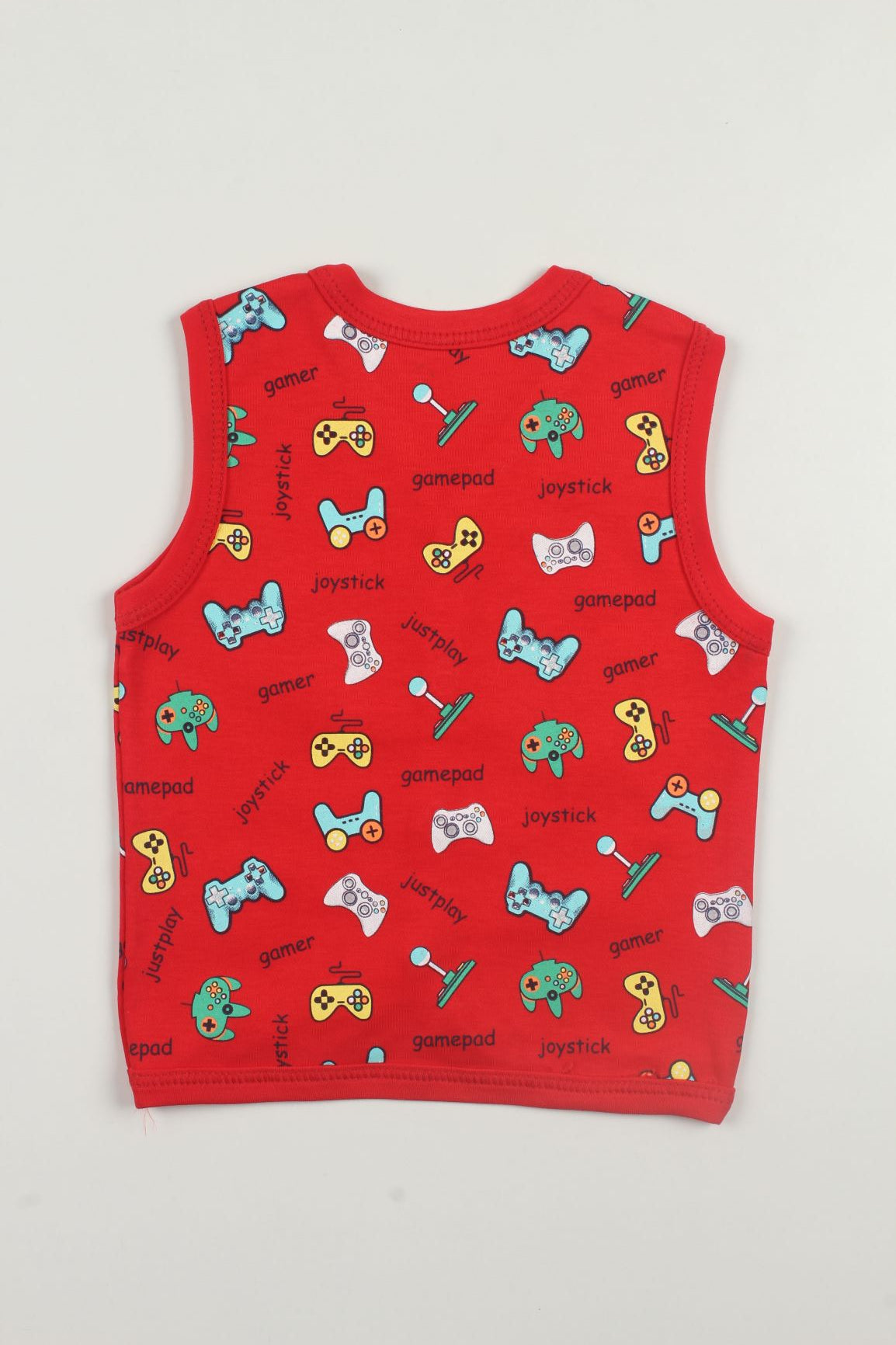 Multi Print Sleeveless Vests (Pack of 3)