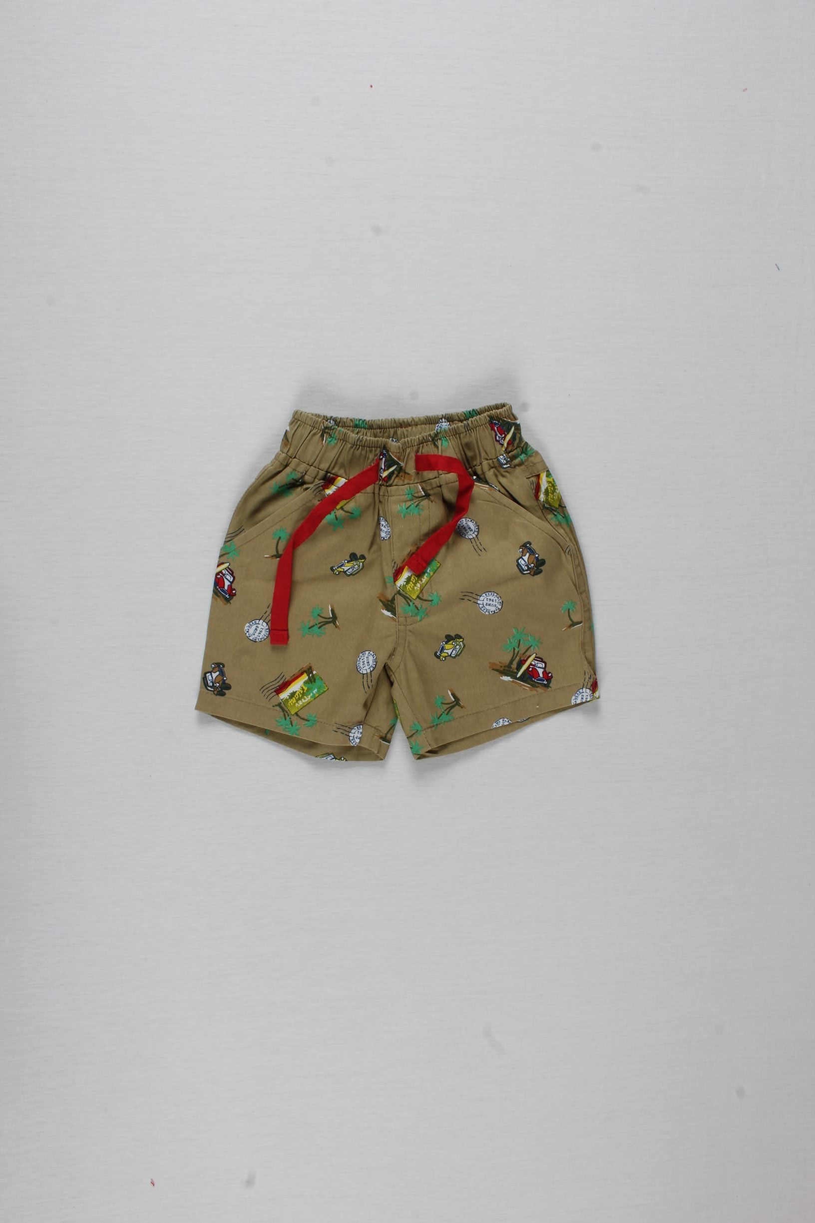 Vintage Cars Shorts Set