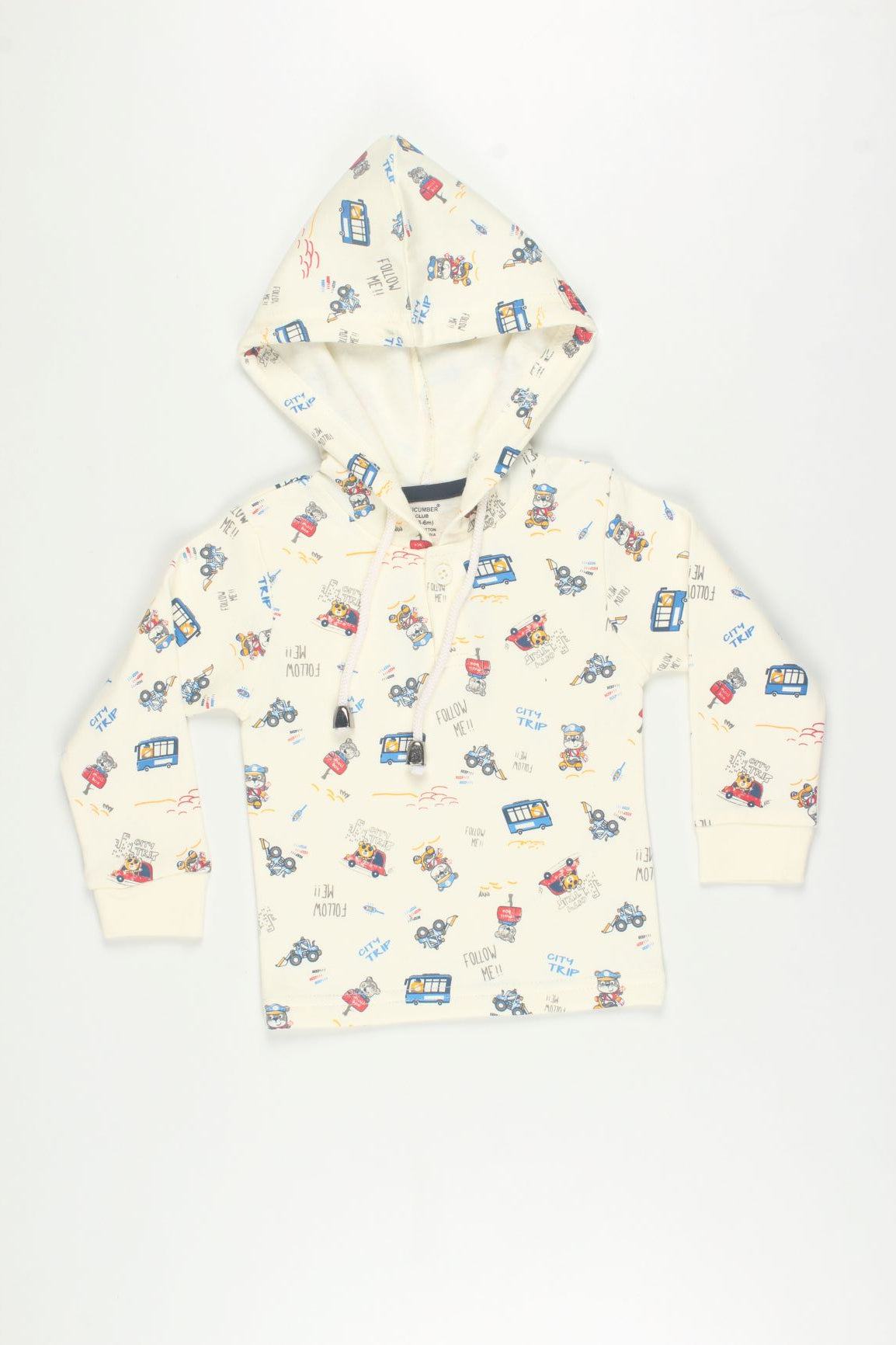 Multi Print Sweatshirt and Track Set
