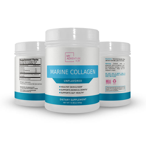 Marine Collagen - Unflavored - 60 Scoops per jar