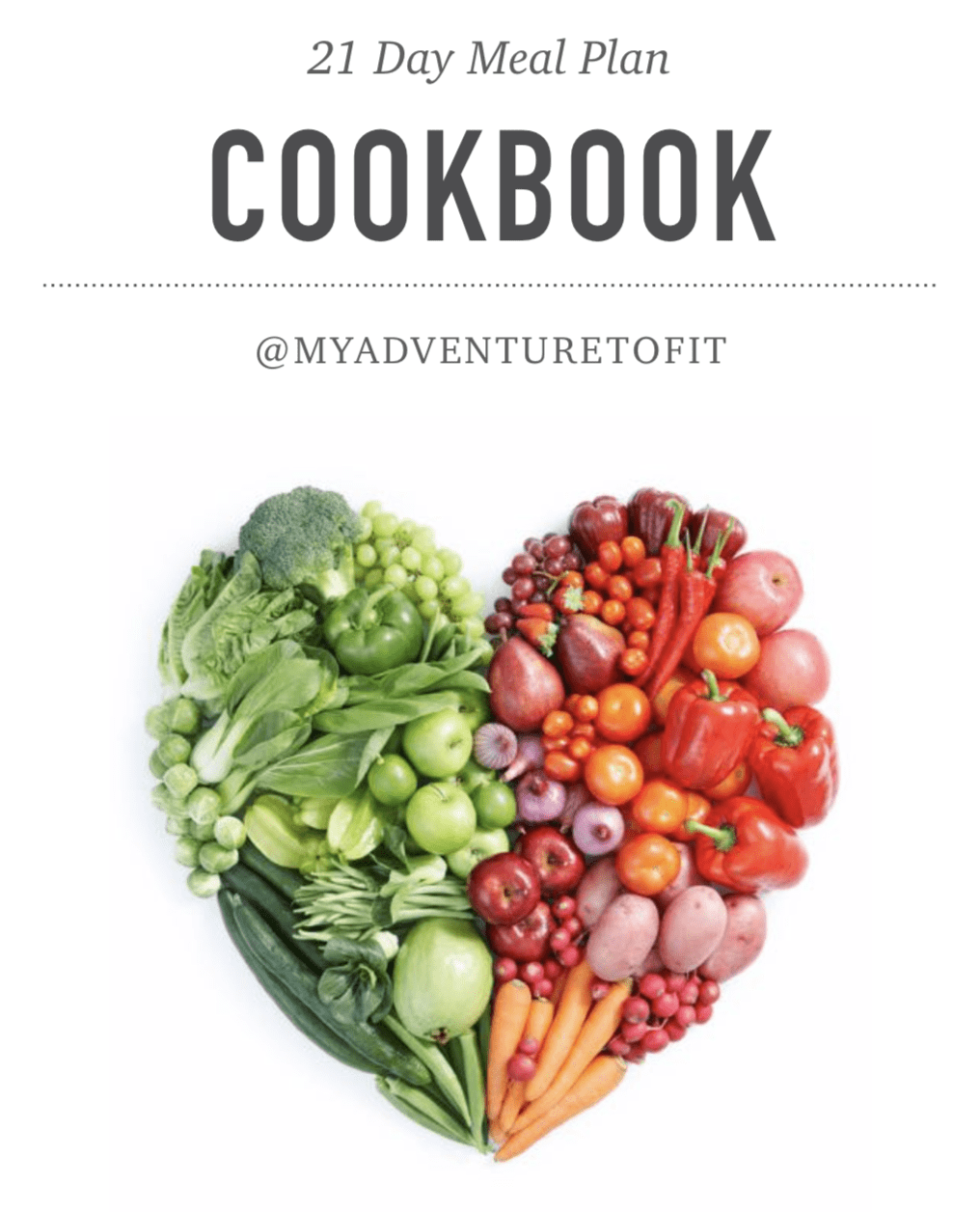 Volume I Recipe Book - 21 Day Meal Plan
