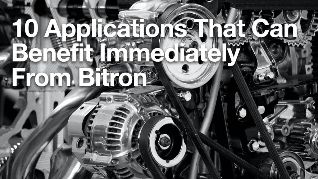10 Applications That Can Benefit Immediately From Bitron