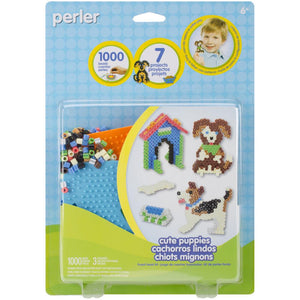 Perler Fused Bead Kit - Cute Puppies