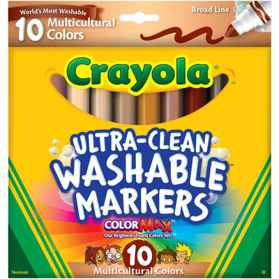 Multicultural Colors Markers - Crayola 10 pack