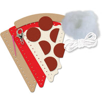 Sew Cute! Felt Backpack Clip Kit - Pizza
