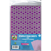 Mirri Sparkle Foam Sheets - Pink