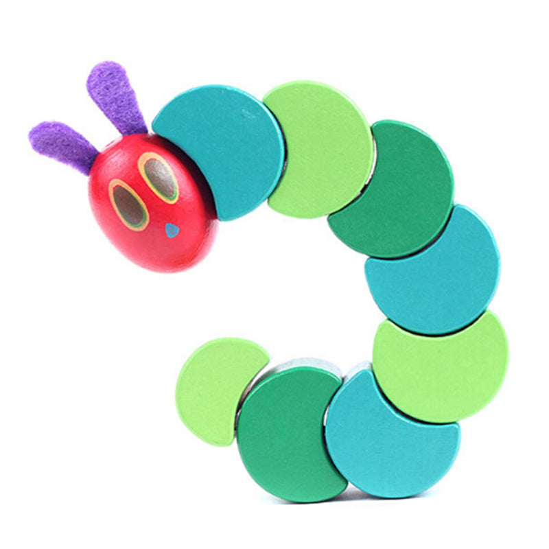 The Very Hungry Caterpillar - Wooden Toy