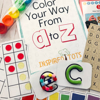August 2020 Activity Kit - Preschool Basics! SOLD OUT!