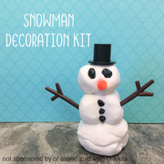Snowman Decorating Kit - Model Magic