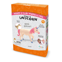 Make-A-Unicorn Wood and Clay kit