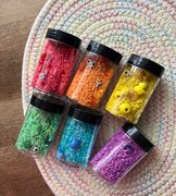 Mini Sensory Bottle - 6 Piece Rainbow Pack