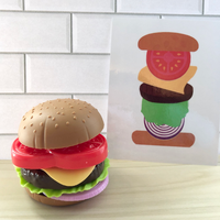 Build a Burger Busy Bag