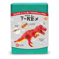 Make-A-Dinosaur - T-rex Wood and Clay kit