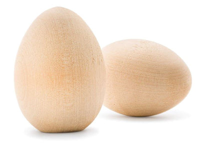 Wooden Eggs - 5 Pieces