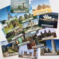 World Landmarks Identification cards