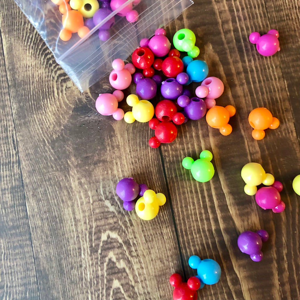 Mini Beads - Mouse Ears Shapes