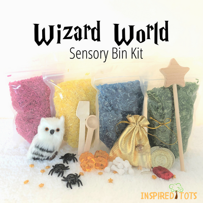 Wizard World Sensory Bin Kit