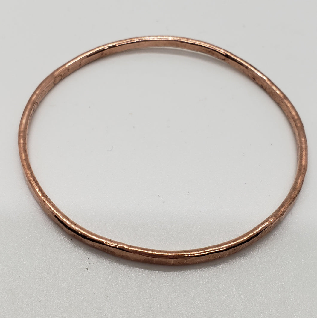 Copper Dapped Bracelet