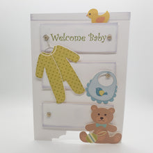 Load image into Gallery viewer, Welcome Baby Card