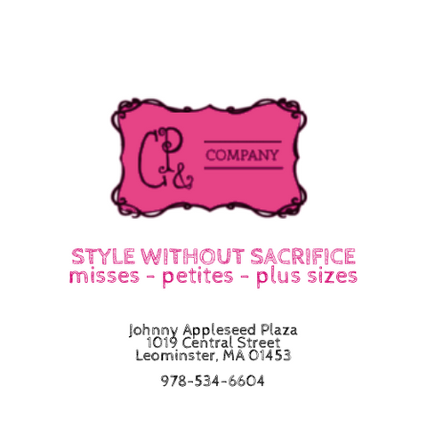 CP & COMPANY Women's Consignment Store in Leominster, MA