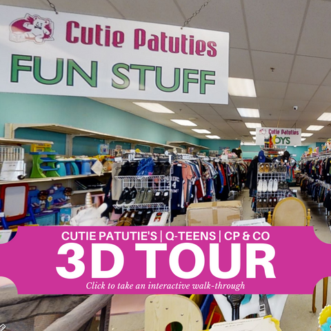 Cutie Patutie's | Q-Teens | CP & Company Family Consignment Stores in Leominster, MA 3D Interactive Tour